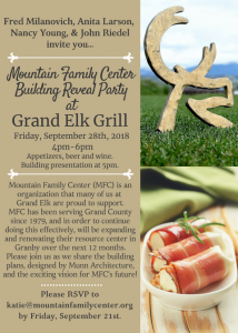 GE Mountain Family Reveal Party
