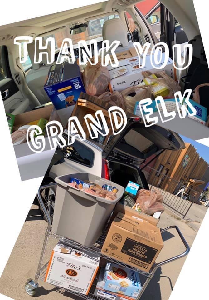 Grand Elk Food Drive
