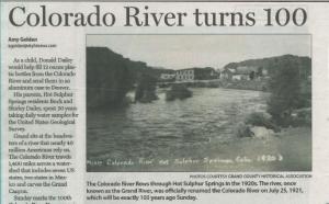 Colorado River Turns 100